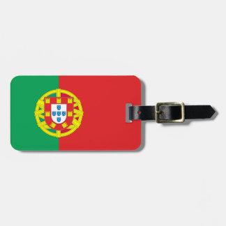 Bandera de Portugal Etiquetas Maletas