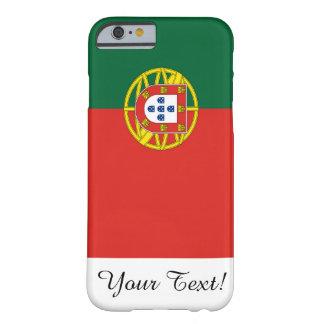 Bandera de Portugal Funda De iPhone 6 Barely There