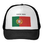 Bandera de Portugal Gorras De Camionero