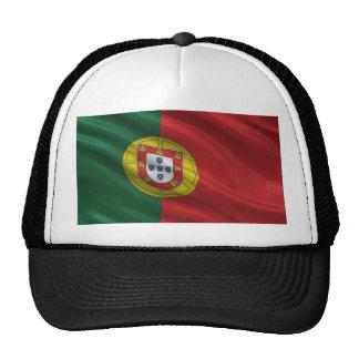 Bandera de Portugal Gorros Bordados