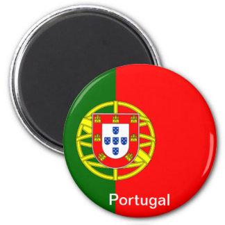 Bandera de Portugal Imán Redondo 5 Cm