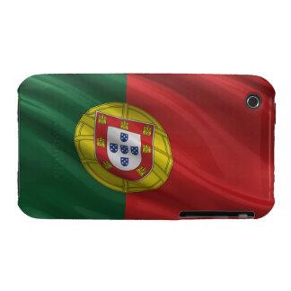 Bandera de Portugal iPhone 3 Cobertura