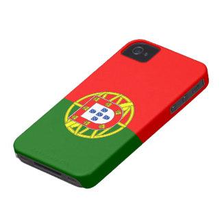 Bandera de Portugal iPhone 4 Funda