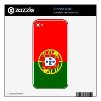 Bandera de Portugal iPhone 4S Skins