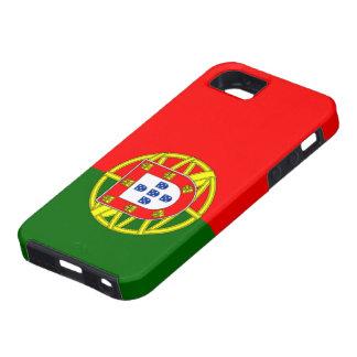 Bandera de Portugal iPhone 5 Carcasa