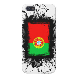 Bandera de Portugal iPhone 5 Fundas