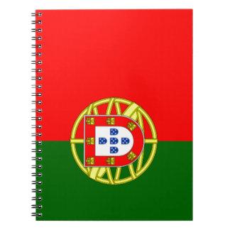 Bandera de Portugal Libreta