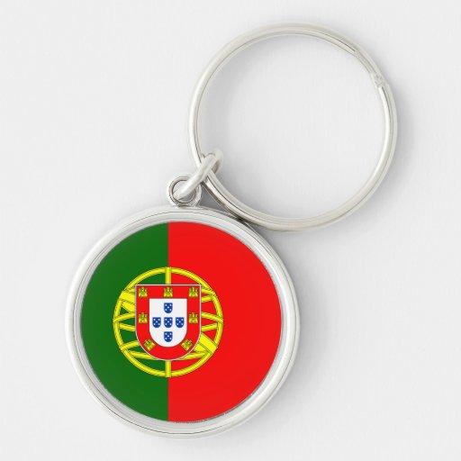 Bandera de Portugal Llavero Personalizado