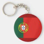 Bandera de Portugal para los altavoces portugueses Llavero Redondo Tipo Pin