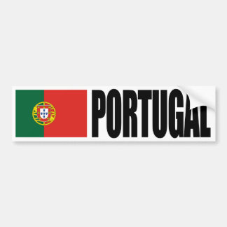 Bandera de Portugal Pegatina Para Auto