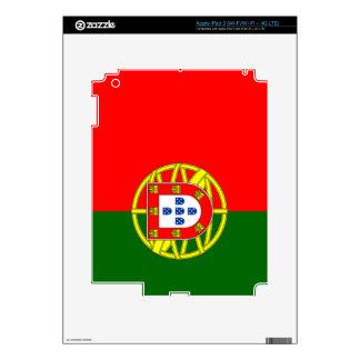 Bandera de Portugal Pegatina Skin Para iPad 3