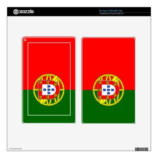 Bandera de Portugal Pegatina Skin Para Kindle Fire