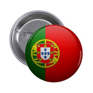 Bandera de Portugal Pin Redondo De 2 Pulgadas