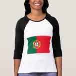 Bandera de Portugal Playera