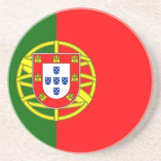 Bandera de Portugal Posavasos Personalizados