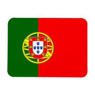 Bandera de Portugal Rectangle Magnet