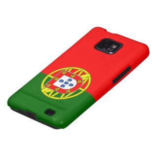 Bandera de Portugal Samsung Galaxy S2 Funda
