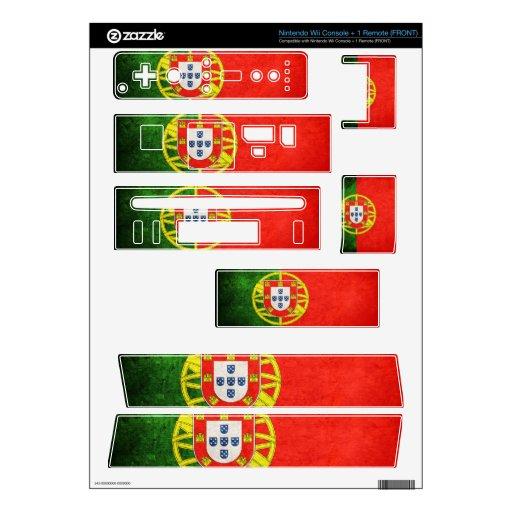 Bandera de Portugal; Skins Para Nintendo Wii