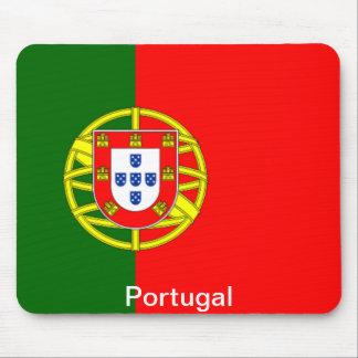 Bandera de Portugal Tapetes De Ratones