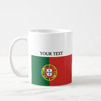 Bandera de Portugal Taza