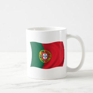 Bandera de Portugal Taza De Café