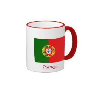 Bandera de Portugal Taza A Dos Colores