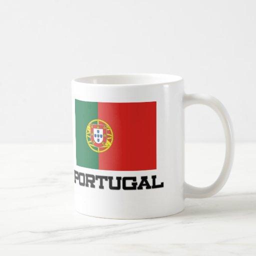 Bandera de Portugal Tazas