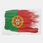 Bandera de Portugal Toallas De Mano