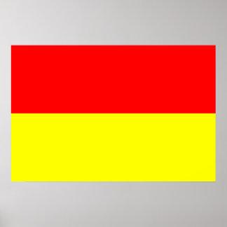 Bandera de Pretoria Suráfrica Impresiones