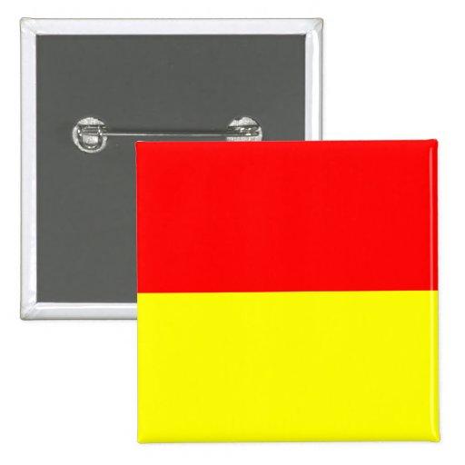 Bandera de Pretoria, Suráfrica Pins