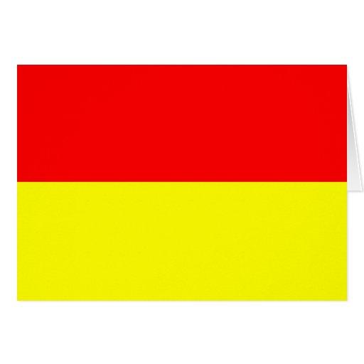 Bandera de Pretoria, Suráfrica Tarjeta De Felicitación