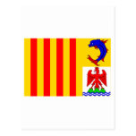 Bandera de Provence-Alpes-Côte-d'Azur Tarjeta Postal
