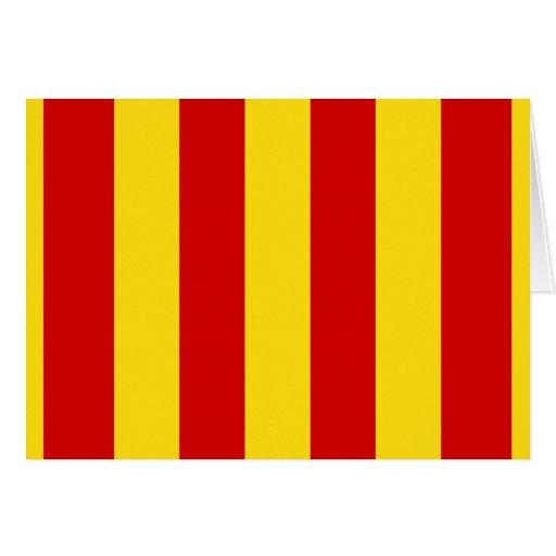 Bandera de Provence, Francia Tarjeta