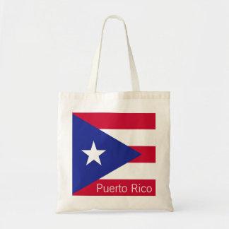 Bandera de Puerto Rico Bolsa Tela Barata