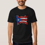 Bandera de Puerto Rico de Reggaeton Playeras