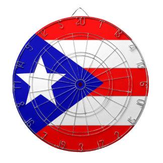 Bandera de Puerto Rico Tablero De Dardos