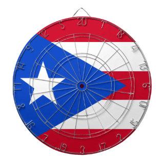 Bandera de Puerto Rico Tablero Dardos