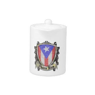 Bandera de Puerto Rico - escudo del escudo