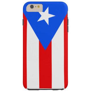 Bandera de Puerto Rico Funda Para iPhone 6 Plus Tough