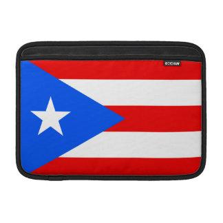 Bandera de Puerto Rico Fundas Para Macbook Air