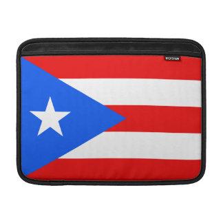 Bandera de Puerto Rico Funda Para Macbook Air