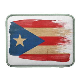 Bandera de Puerto Rico Fundas MacBook