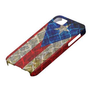 Bandera de Puerto Rico Funda Para iPhone 5 Barely There