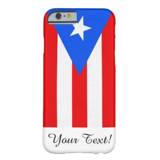 Bandera de Puerto Rico Funda Para iPhone 6 Barely There
