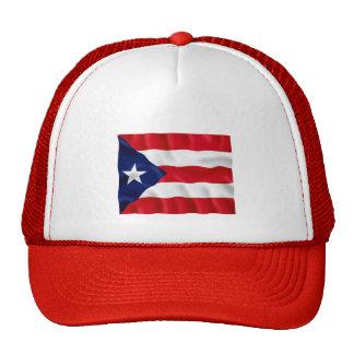Bandera de Puerto Rico - gorra del camionero