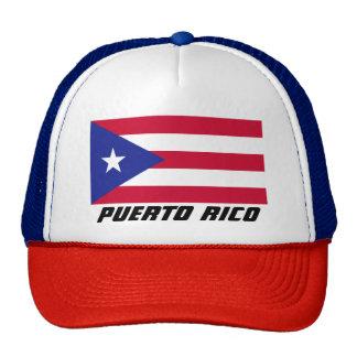Bandera de Puerto Rico Gorro De Camionero