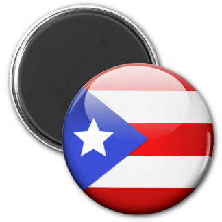 Bandera de Puerto Rico Iman De Nevera
