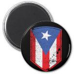 Bandera de Puerto Rico Iman De Frigorífico