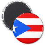 Bandera de Puerto Rico Imán Para Frigorífico