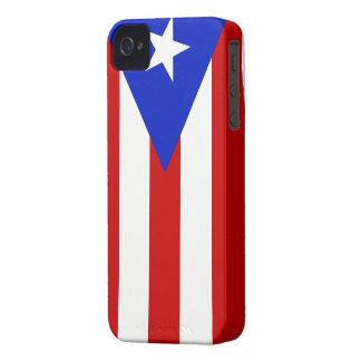 BANDERA DE PUERTO RICO iPhone 4 Case-Mate FUNDA